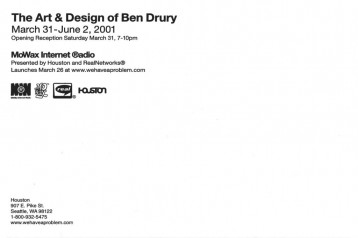 Houston : The Art & Design of Ben Drury