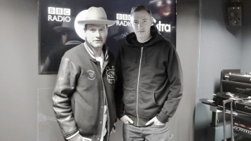 Mo' Wax special featuring James Lavelle on Benji B's show, BBC Radio 1