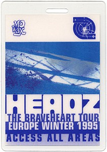 Headz tour VIP pass