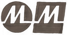 Monet Mark logo sketch