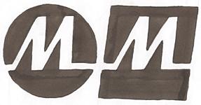Monet Mark logo sketch