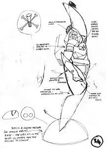 Pointman drawing