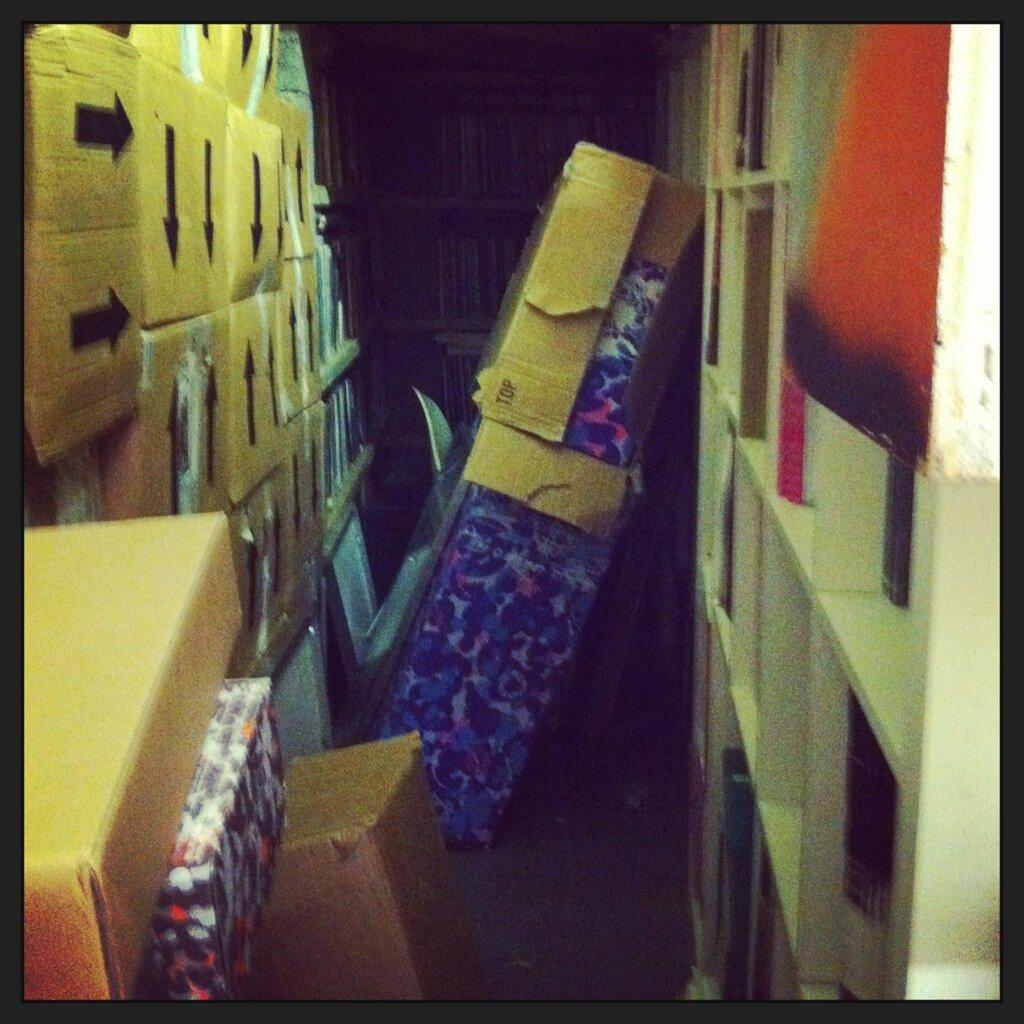 Mo' Wax storage