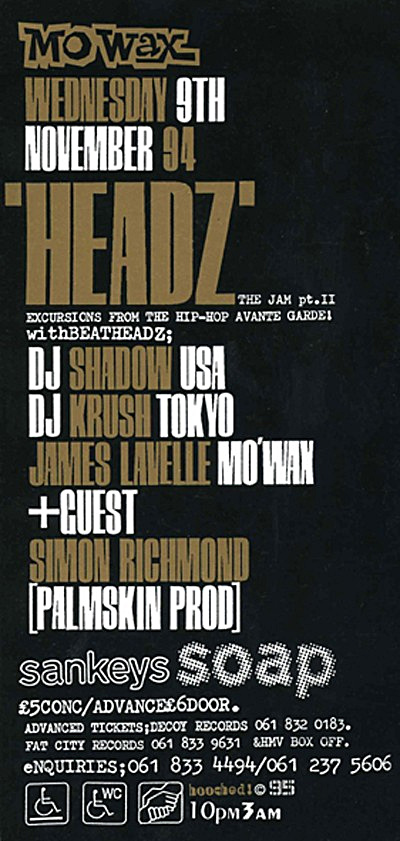 DJ Shadow & DJ Krush live @ Headz Tour - 1994