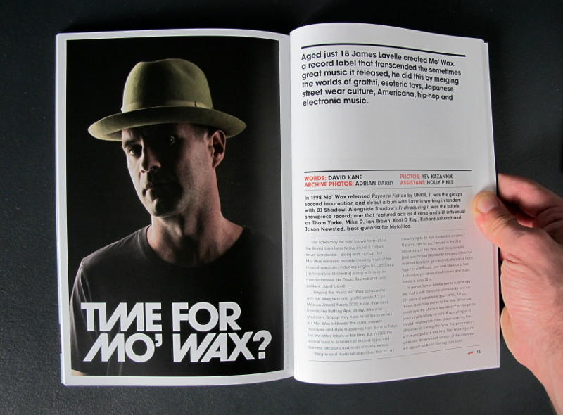 Bonafide Magazine issue 8 featuring James Lavelle & Mo' Wax