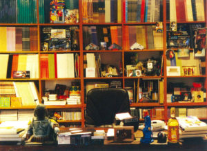 James Lavelle's office at Mo' Wax HQ - 1998