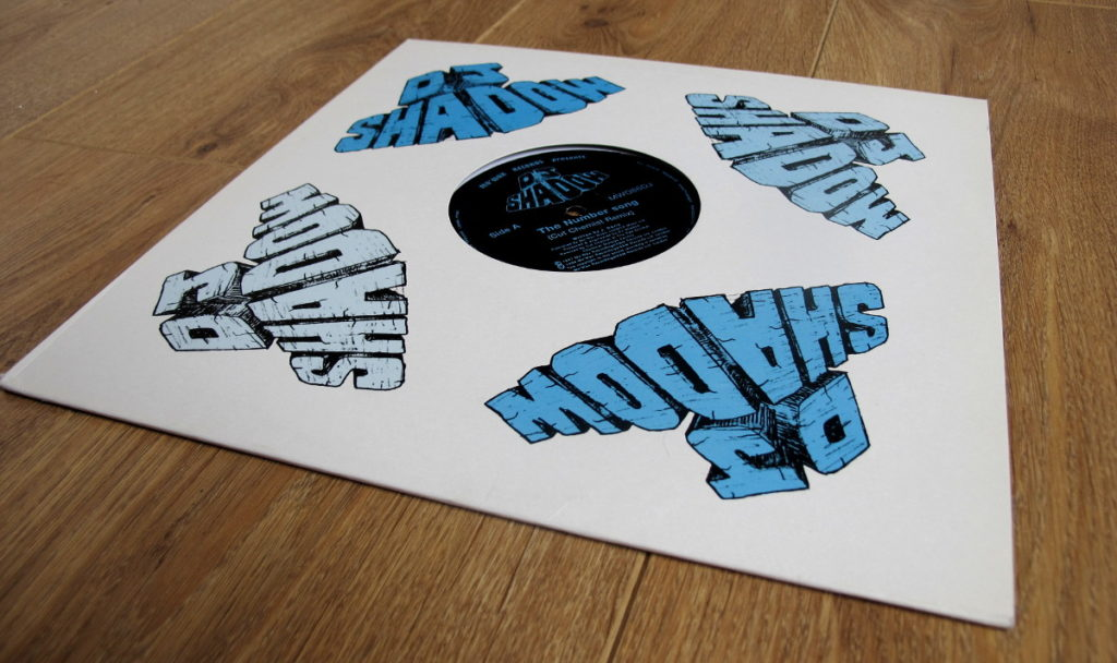MW083DJ - DJ Shadow - Number Song / Pain Killer - Mo' Wax