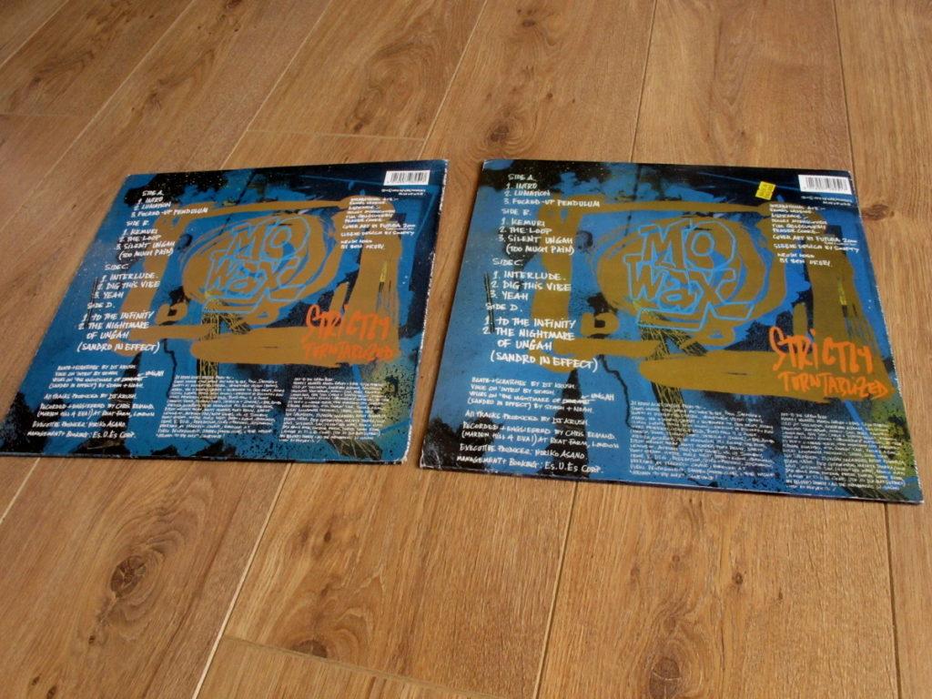 Mo' Wax bootlegs - DJ Krush Strictly Turntablized - back