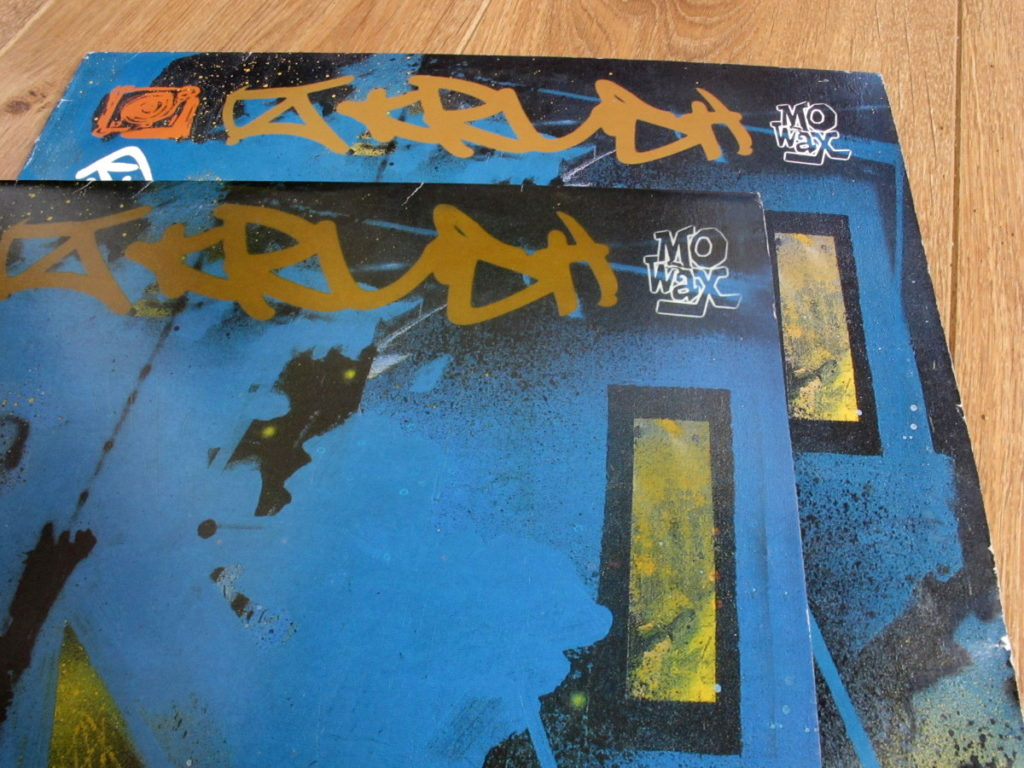 Mo' Wax bootlegs - DJ Krush Strictly Turntablized - front close-up 1