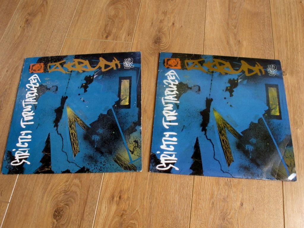 Mo' Wax bootlegs - DJ Krush Strictly Turntablized - front
