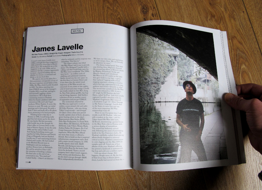 Jocks & Nerds - James Lavelle feature