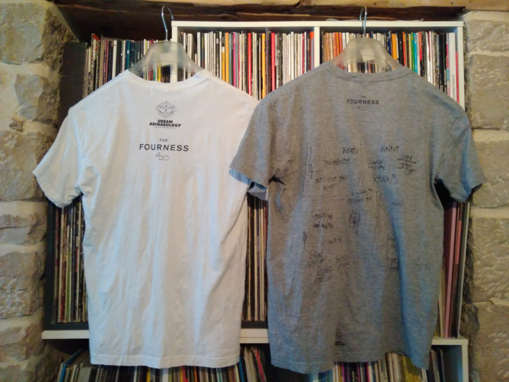 Mo' Wax compressed tees from Daydreaming with UNKLE at Lazarides - back
